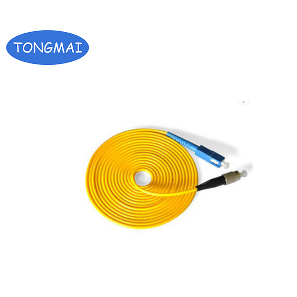 SC-FC single mode simplex Fiber optic patch cord