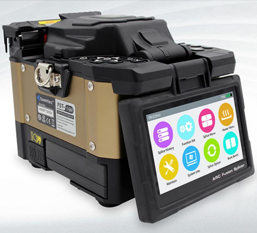 Fiber Optic Fusion Splicer Machine