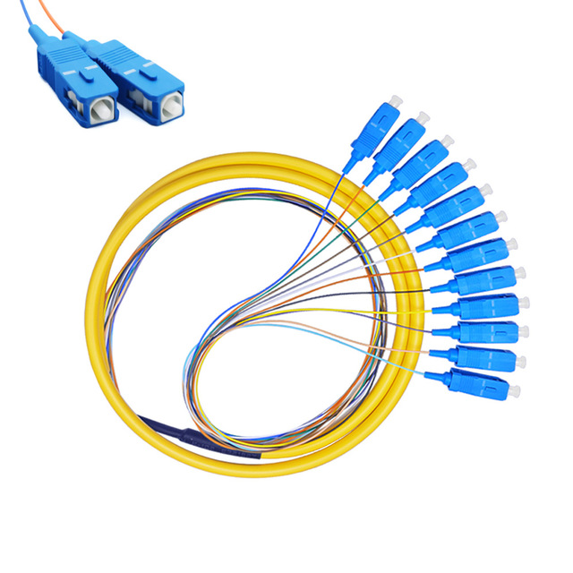 Optical Pigtail Patch Cord Cable W/ SC/UPC Connector